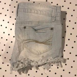 Blue Asphalt Shorts - Shorts